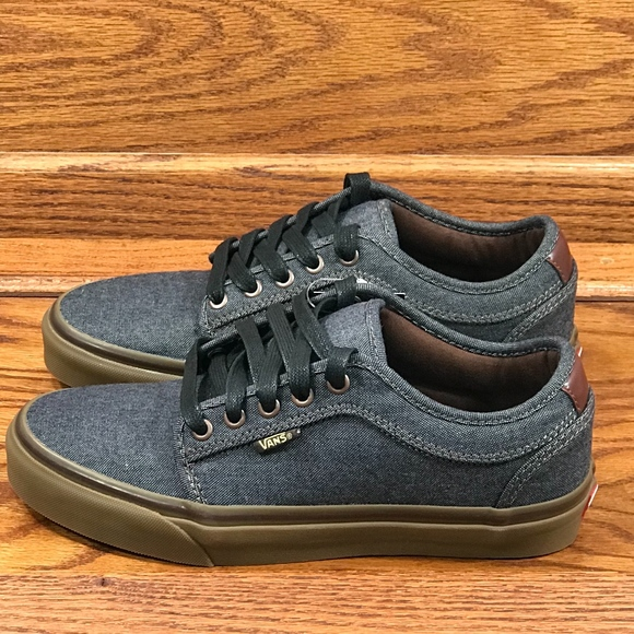 6549429c3a Vans Chukka Low Oxford Black Gum Shoes